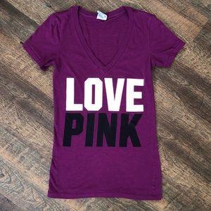PINK Victoria's Secret V Neck Shirt